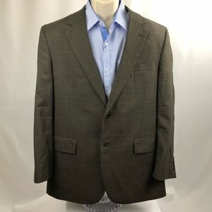 JoS A Bank Men's Sport Coat Blazer brown 43R